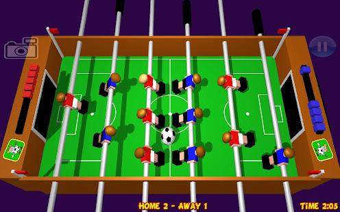 Table Football, Soccer 3D 1.20 Screenshots 1