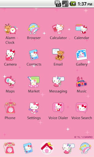 Hello Kitty Theme 3 For PC Windows (7, 8, 10, 10X) & Mac Computer Image Number- 6