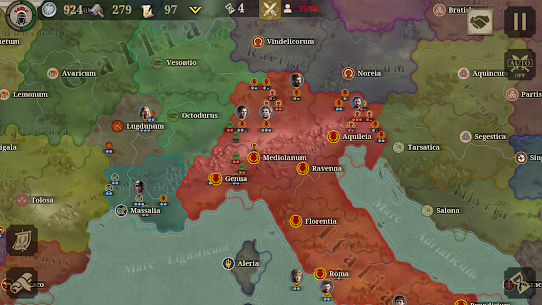 Great Conqueror: Rome MOD APK 1.6.2 (Unlimited Medals) 9