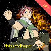 Natsu Anime Wallpapers 4K - Auto Changer Wallpaper