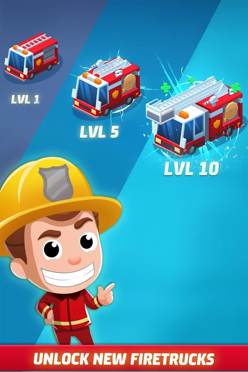 Idle Firefighter Tycoon - Fire Emergency Manager  poster 4