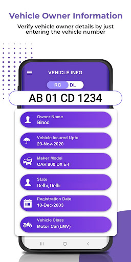Vehicle Info - Vehicle Owner Details android2mod screenshots 2