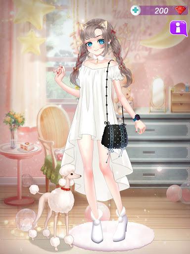 Anime Dress Up Queen Game for girls screenshots 16