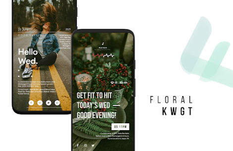 Floral Kwgt APK (PAID) Download for Android 6