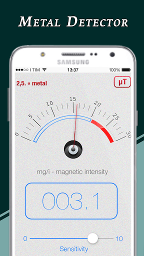 Genuine Metal Detector : Real Metal Finder App  screenshots 3