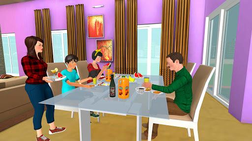 Working Mom Newspaper Girl Family Games  screenshots 6