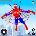 Superhero Rescue Mission: Flying Superhero Robot