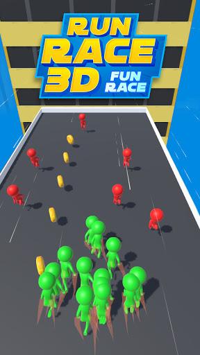 Run Race 3d : Fun Race - Short Cut Running Games  screenshots 1