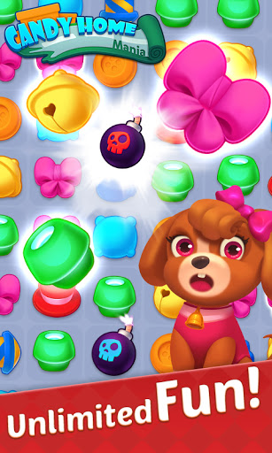 Candy Home Mania - Match 3 Puzzle screenshots 1