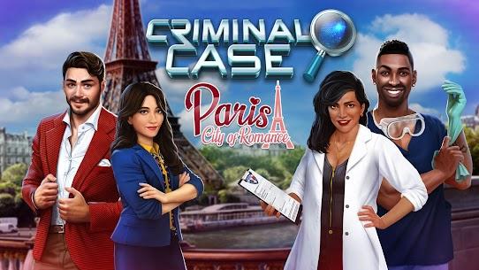 Criminal Case Paris Hileli Apk Güncel 2021** 5