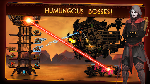 Steampunk Tower 2: The One Tower Defense Strategy screenshots 2