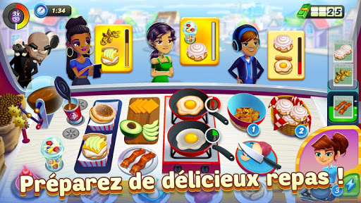 Télécharger gratuit Diner DASH Adventures – a cooking game APK MOD 1
