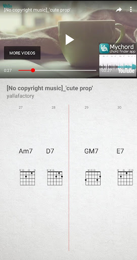 MyChord - Chords Finder for any music