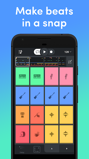 Beat Snap - Music & Beat Maker  APK screenshots 1