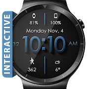 Material Shadow HD WatchFace Widget Live Wallpaper