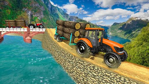 Real Tractor Trolley Cargo Farming Simulation Game screenshots 7