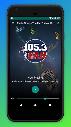Radio Sports The Fan Dallas 105.3 + Radio USA Live