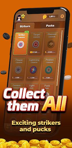Carrom Gold : Multiplayer Friends Board Games King 2.30 screenshots 5
