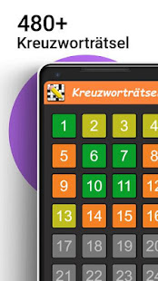 Kreuzworträtsel Deutsch kostenlos 1.6.0 screenshots 1