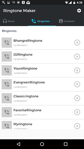MP3 Cutter & Ringtone Maker android2mod screenshots 2