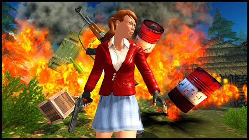 Firing War Battlegrounds: Offline Gun Games 2020 screenshots 6