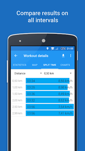GPS Sports Tracker App: running, walking, cycling 2.9.3 Screenshots 6