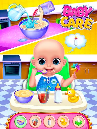 Sweet Baby Care Games & Dress Up Games apktram screenshots 1