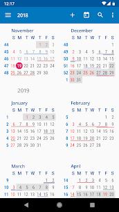 aCalendar Apk- a calendar app for Android (Final/Paid) 5