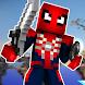 Spider Man Skin For Minecraft PE