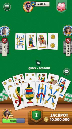 Scopa - Free Italian Card Game Online modavailable screenshots 4
