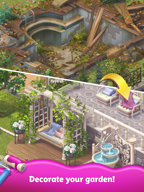 Merge Matters: Home renovation game with a twist poster 8