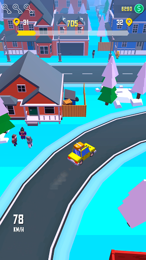 Taxi Run - Crazy Driver 1.30 screenshots 4