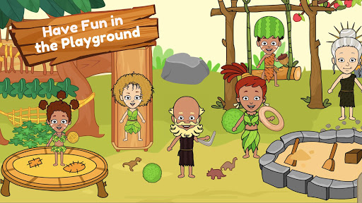 My Dinosaur Town - Jurassic Caveman Games for Kids 3.3 Screenshots 12