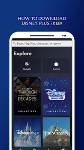 DISNEY PLUS MOD APK (Version 1.14.2) 3