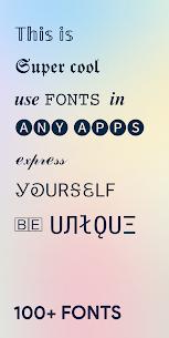 Fancy Fonts – Cool Fonts & Stylish Text Generator (PRO) 1.5.200910 Apk 1