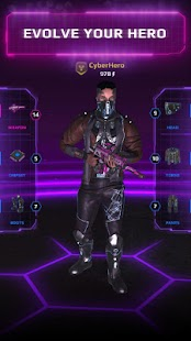 CyberHero: Multiplayer Turn-based Cyberpunk RPG Screenshot