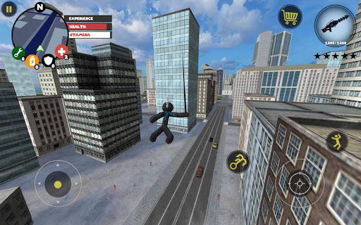 Stickman Rope Hero 3.7 screenshots 1