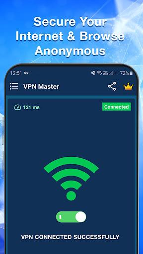 VPN Master - Free & Fast & Secure VPN Proxy  screenshots 1