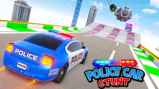 Police Car Stunt Games - Mega Ramps  APK MOD (Astuce) screenshots 4