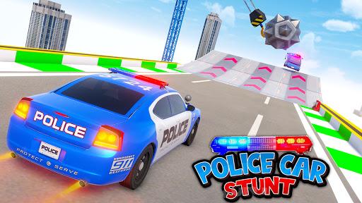 Police Car Stunt: Mega Ramps  screenshots 1