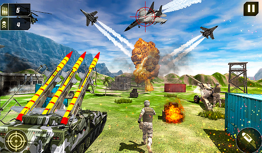 Military Missile Launcher:Sky Jet Warfare 1.0.8 screenshots 21