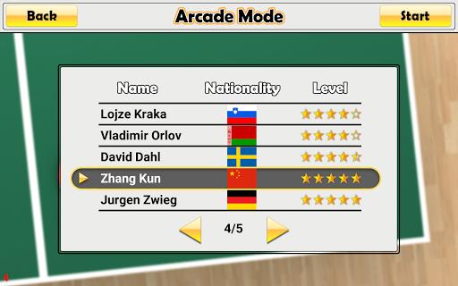 Virtual Table Tennis 2.2.0 screenshots 15