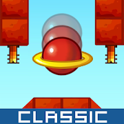 Classic Bounce Game - Red Ball Adventure