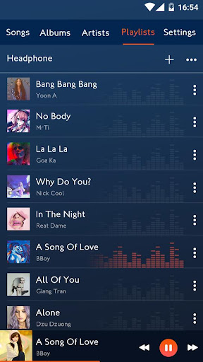 Music player android2mod screenshots 11