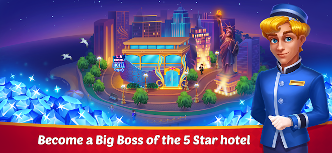 Dream Hotel: Hotel Manager Simulation games 9