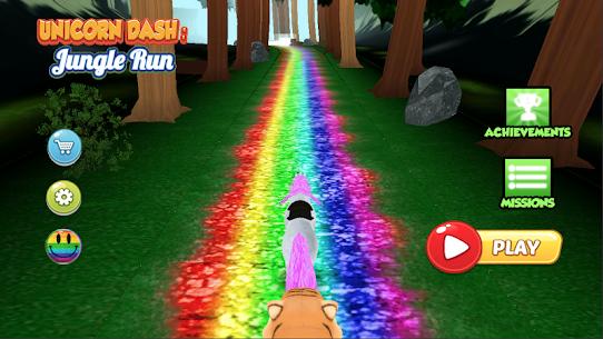 Unicorn Dash Jungle Run For Pc- Download And Install  (Windows 7, 8, 10 And Mac) 1