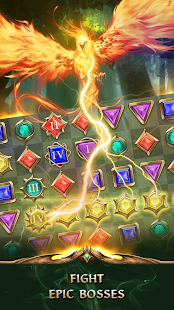 Hack Game Gemstone Legends - epic RPG match3 puzzle game apk free