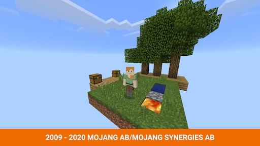 One block survival Minecraft maps. Map for MCPE 5 screenshots 2