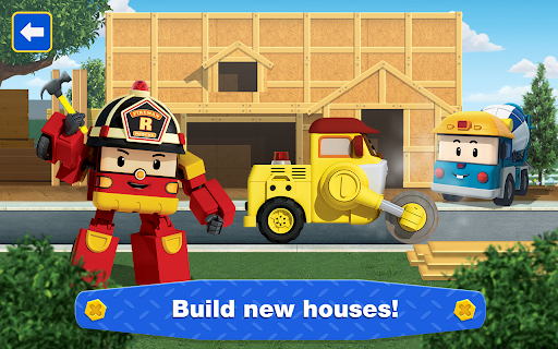 Robocar Poli: Builder! Games for Boys and Girls!  screenshots 12