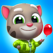 App Icon for Talking Tom Splash Force App in United States Google Play Store